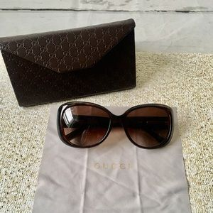 Gucci Tortoise Shell Sunglasses